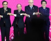 Leaders representing Regional Comprehensive Economic Partnership (RCEP) trade agreement countries attend a summit in Bangkok in November last year. | REUTERS
